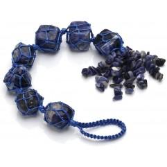Natural crystal stone aura healing crystal pendant...